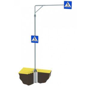Консольная опора для дорожного знака