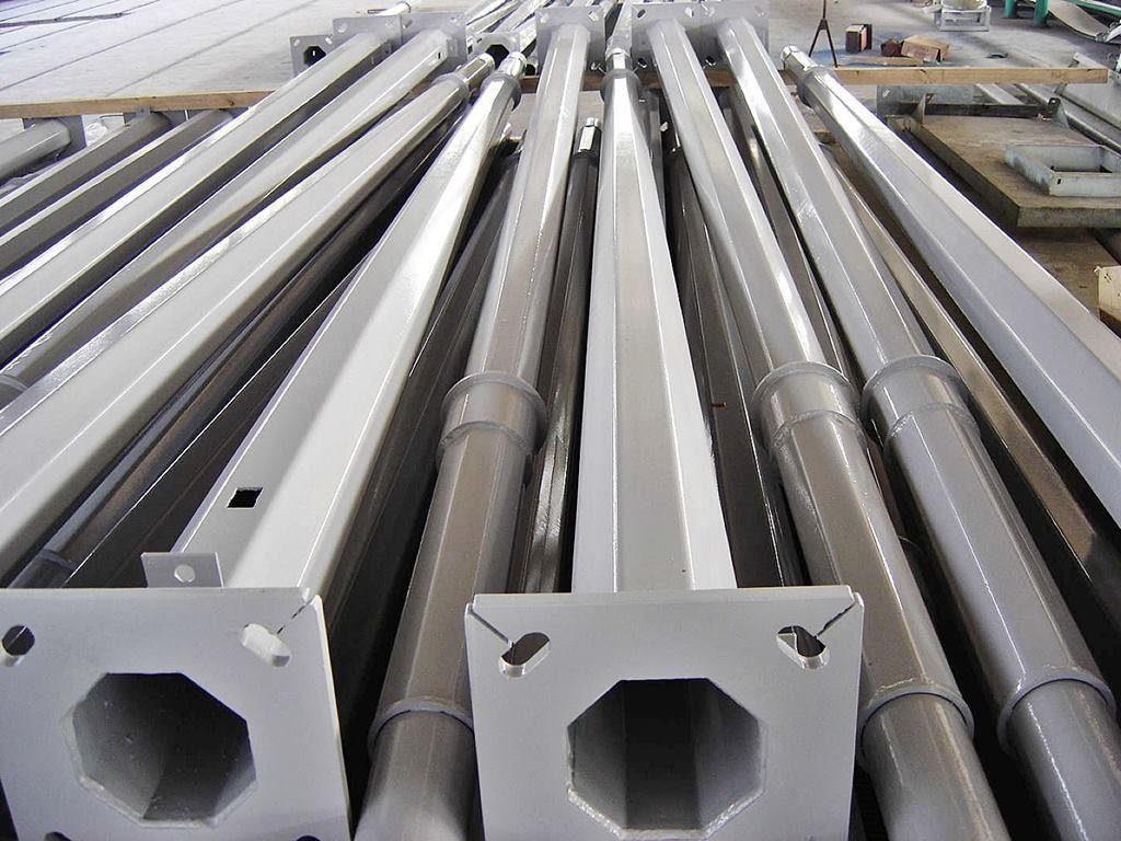 Производство опор металлических оцинкованных