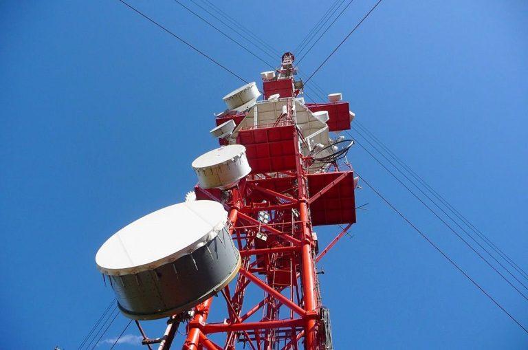 Монтаж и установка вышки сотовой связи