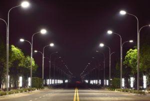 установка различных опор освещения в Москве