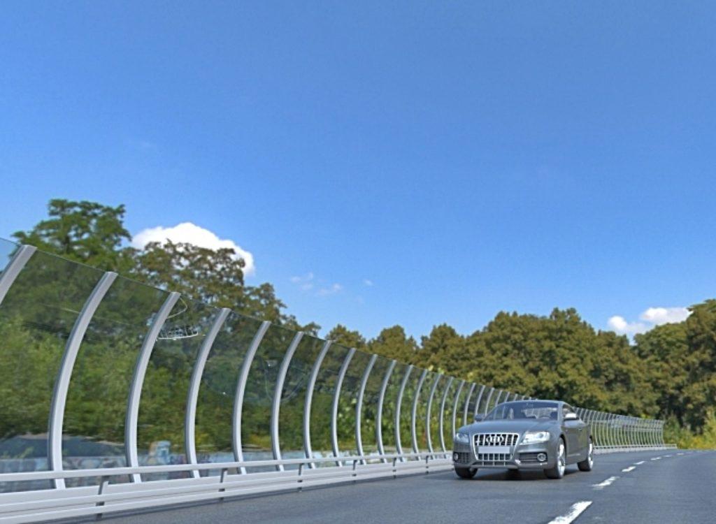 Дорожные ограждения (экраны) против шума